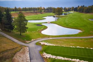 Mapri Asfaltiranje dostopa do Golf igrišča Bled