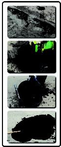 Postopek vgradnje tekočega asfalta - RR Herbol I MAPRI PROASFALT